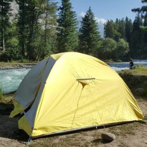 Waterproof tents on rent