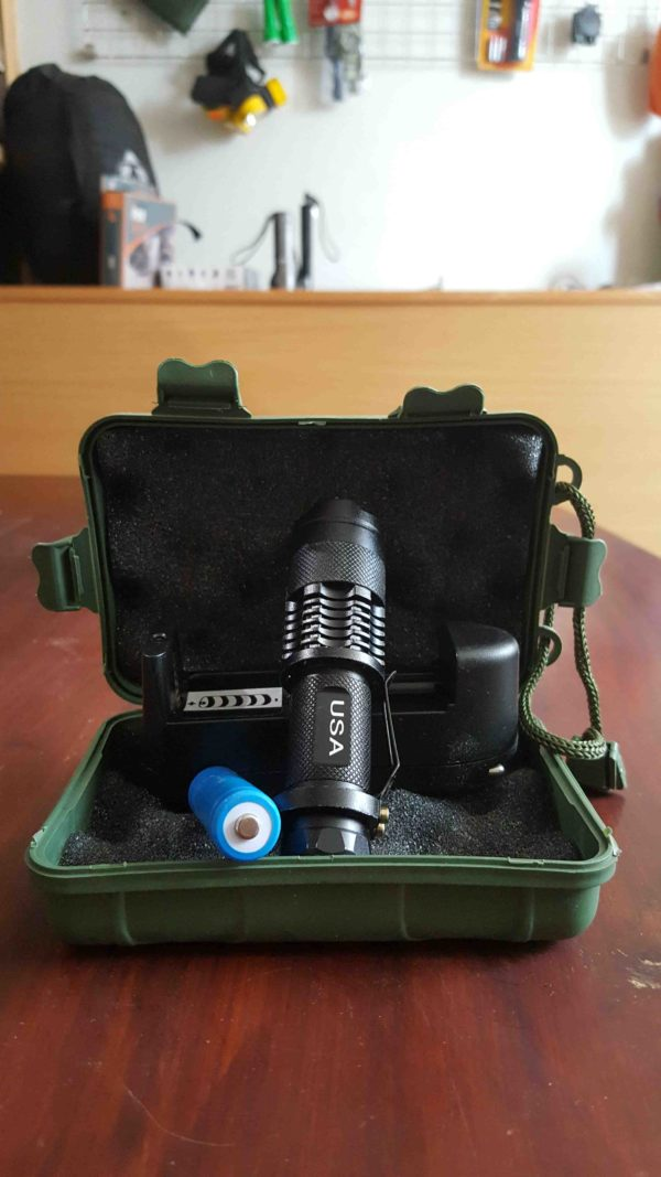 USA Mini Rechargeable Torch